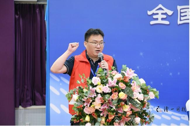 裁判员叶凌云6段代表宣誓