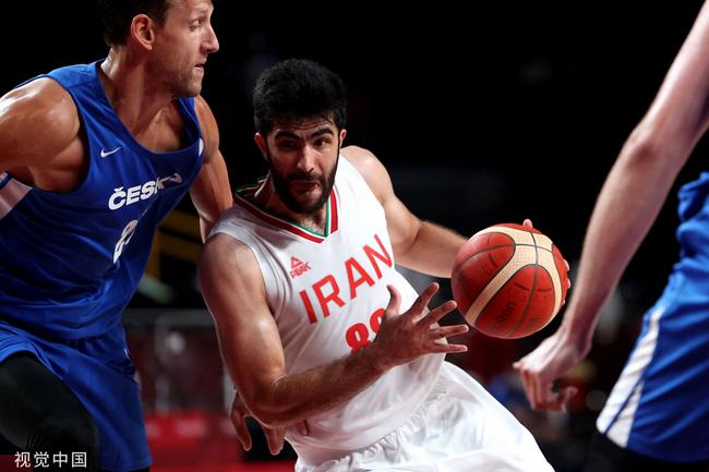 哈达迪两双伊朗翻盘未果 不敌捷克奥运会仍0胜