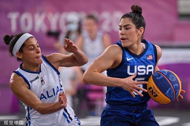 美国女子三人篮球5战5胜 意大利顽强拼到最后