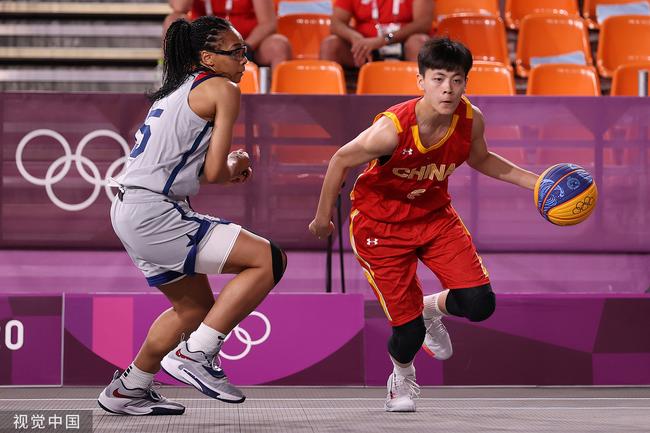 中国三人女篮遭绝杀惜败美国 目前取得4胜2负