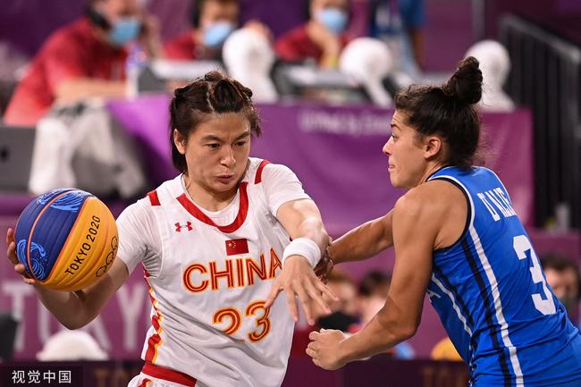 中国3人女篮晋级四强 交叉赛发威轻取意大利
