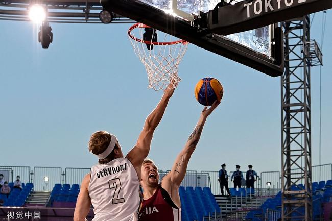 拉脱维亚大胜进军决赛 3人篮球比利时低迷