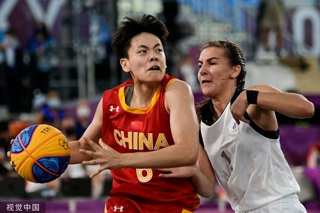 与法国争铜牌 中国三人女篮拥有巨大心理优势