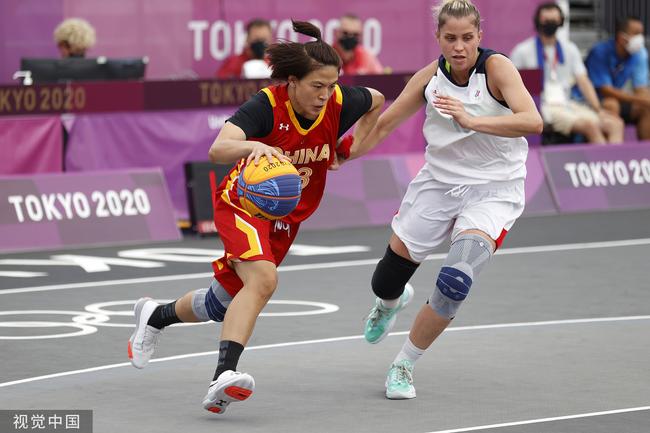 中国三人女篮遗憾失利 再负俄罗斯仍有望铜牌
