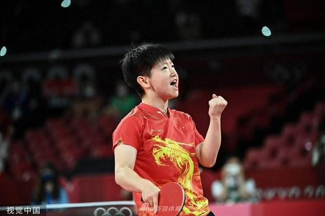 孙颖莎:用进攻把对手打怕 决赛舞台要释放自己