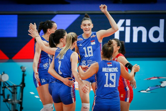 女排欧锦赛三队锁定小组头名 26日意大利对瑞士