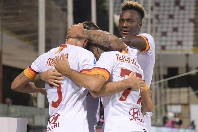 意甲-亚布拉罕进球 佩莱格里尼双响 罗马4-0客胜