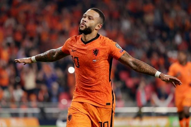 德佩首次包揽荷兰队前两球 创荷兰队近8年进球纪录