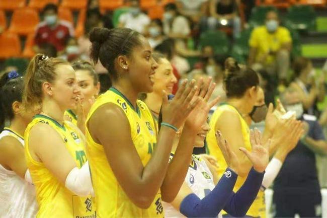 南美锦标赛巴西女排3连胜 提前锁定世锦赛入场券