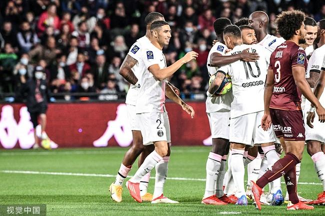 法甲-飞翼头筹+94分钟绝杀 巴黎2-1豪取七连胜
