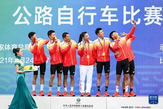 全运会公路自行车团体计时赛 黑龙江队成最大赢家!