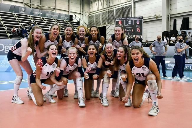 U18女排世锦赛欧洲3队进4强 美国3-2挫土耳其晋级