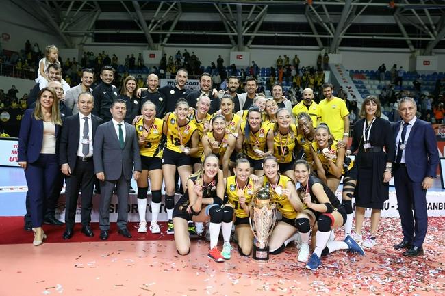 土耳其女排超级杯瓦基弗夺第4冠 奥兹巴伊荣膺MVP