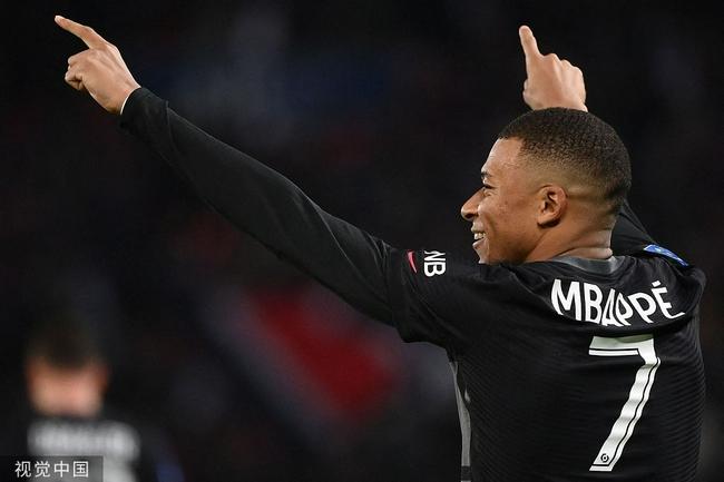 法甲-姆巴佩助攻扳平+点球绝杀 巴黎2-1逆转领跑