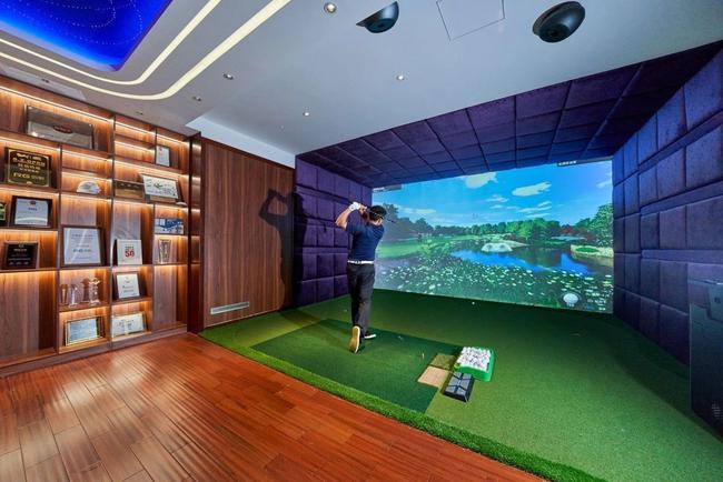 30平方米就可以打造居家高爾夫環境