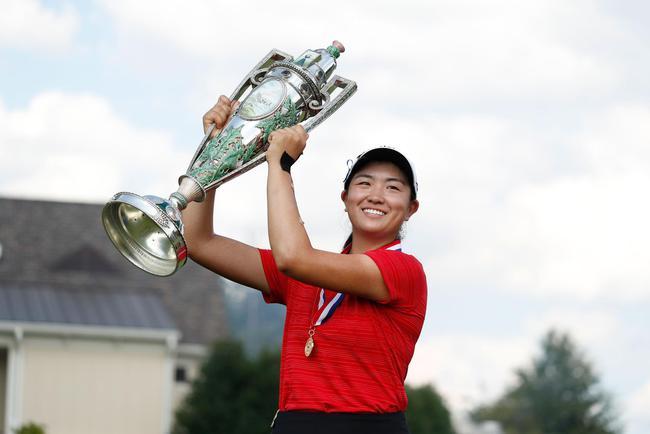 张斯洋连续两年夺AJGA年度最佳球员奖