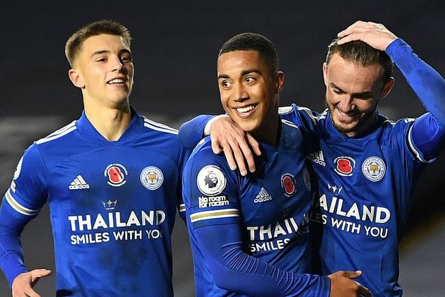 英超-莱斯特城4-1客胜利兹联 超越热刺升至第二