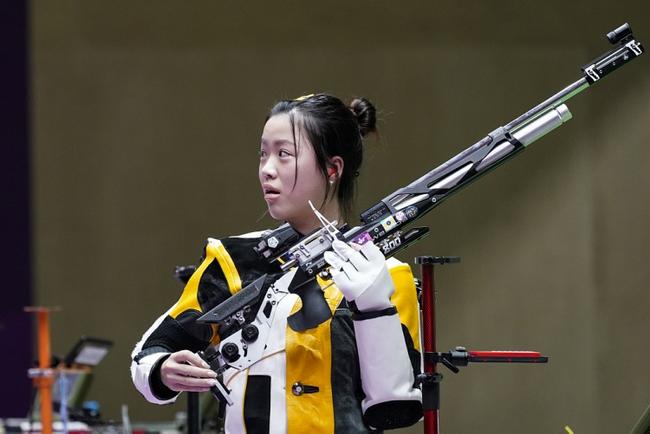 气步枪混团中国喜忧参半 杨倩杨皓然排名第一晋级