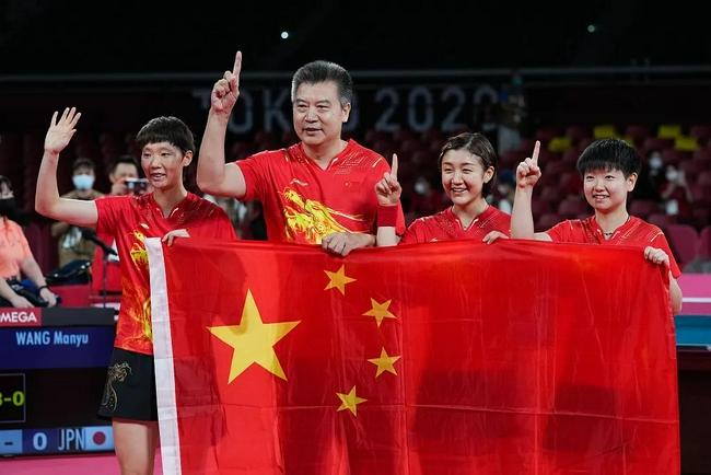 孙颖莎:我们仨是一个集体 希望继续一起拿冠军