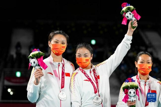 第16届残奥会中国体育代表团感谢中国奥委会!