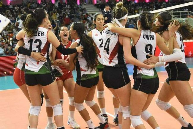 泛美杯墨西哥女排3-1美国首进决赛 将与多米争冠