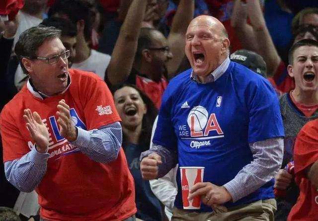 鲍尔默被评为NBA最佳老板!