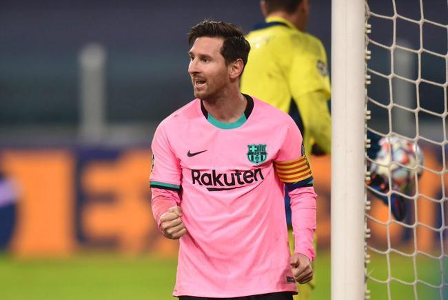 梅西传射协助巴萨2-0打败尤文
