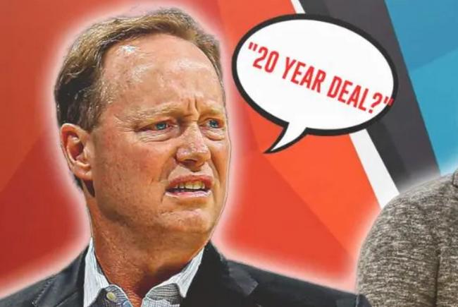 雄鹿主帅:我想要一份20年的提前续约合同!