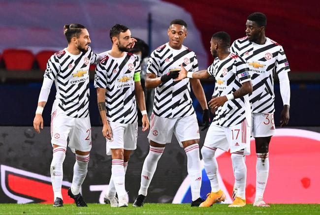 拉什福德绝杀B费点射 曼联2-1客场打败巴黎