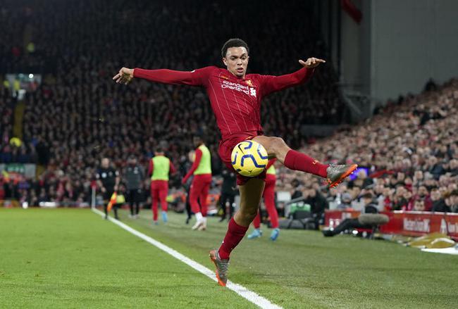 利物浦后卫阿诺德小腿受伤 将伤停4周