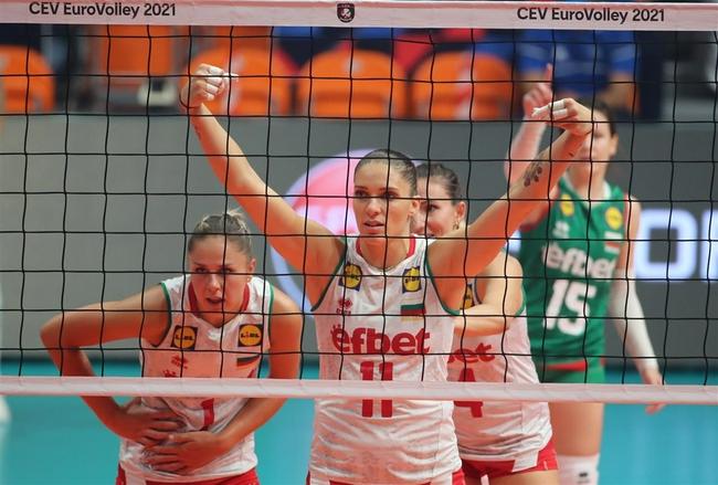 欧锦赛保加利亚3-0希腊 瓦西列娃19分荣膺得分王