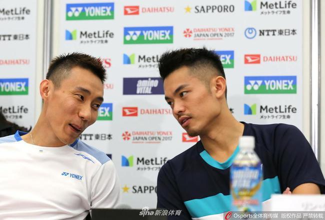 李宗伟谈林丹退役:期待接下来合作推广羽毛球