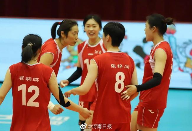全运资格赛河南女排逆转辽宁 朱婷46分刷新纪录
