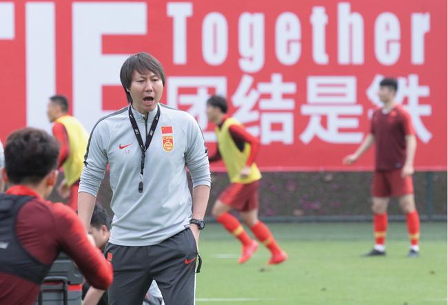 马德兴:国足首次安排一日两练 专门安排力量训练
