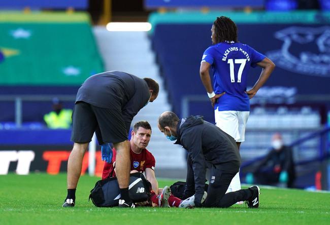 米尔纳受伤