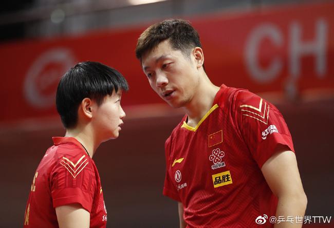 许昕:双方对冠军都渴望 我和孙颖莎交流鼓励更多