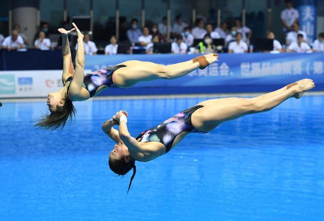 跳水奥运选拔赛第二站首日
