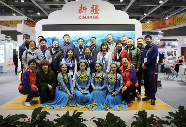 """新疆国际体育旅走社""""两博会""""参展 开启体旅融相符新局面"""