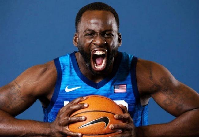 追梦格林:篮球是我们的比赛!喜欢在奥运作战