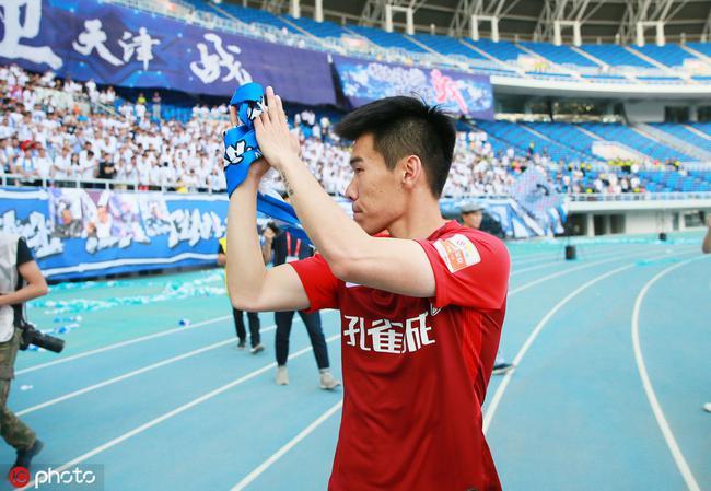泰达旧将:重返水滴和老队友开玩笑 感谢天津球迷