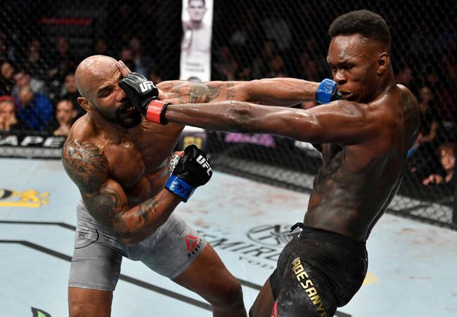 阿迪薩亞一致判定擊敗羅梅羅成功衛冕UFC中量級冠軍