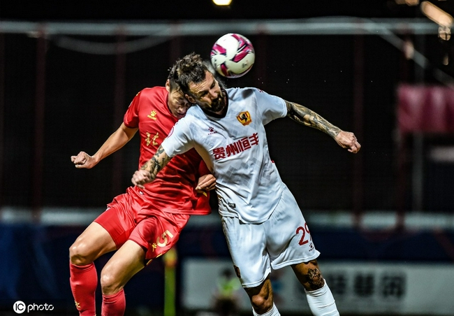 中甲-贵州队0-0北体大 第三阶段3胜1平保持不败