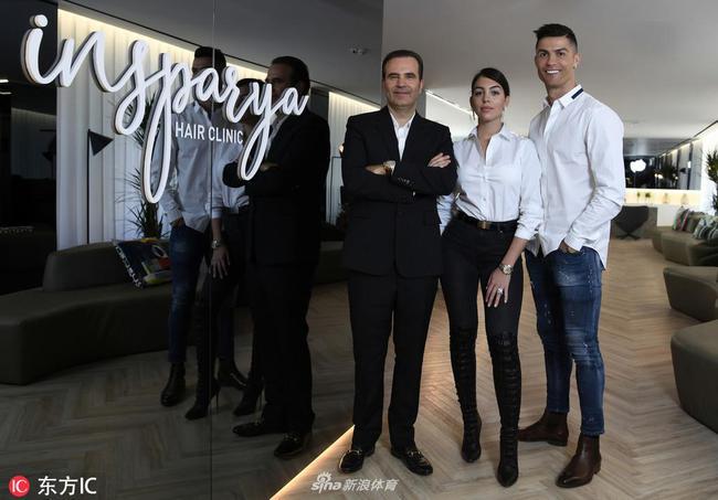 C罗新生意!植发诊所在马德里开业 齐祖来看看?