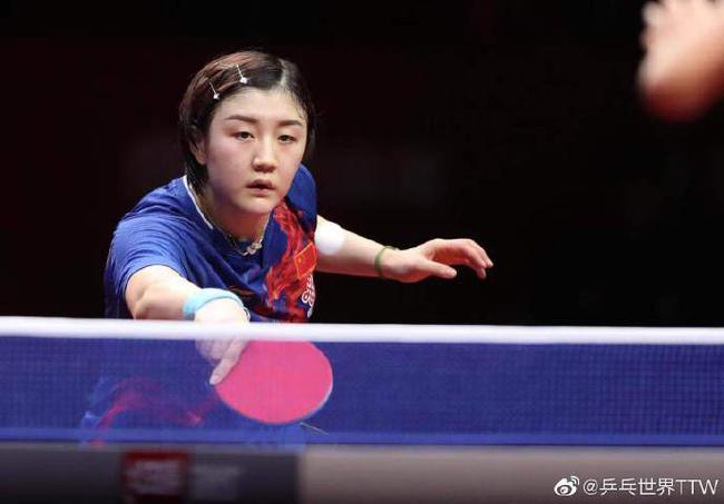 直通赛陈梦4-1刘斐 与王曼昱朱雨玲晋级6强