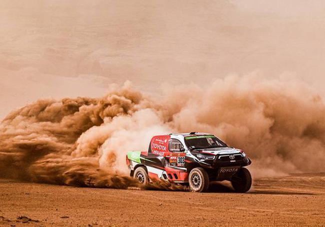 沙特车手阿尔-拉吉再次夺得赛段冠军