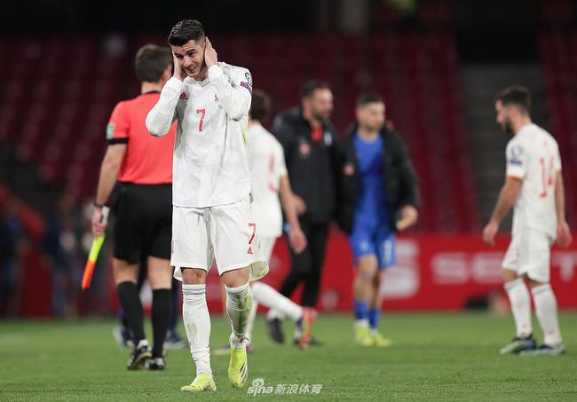 西班牙1-1冷平希腊