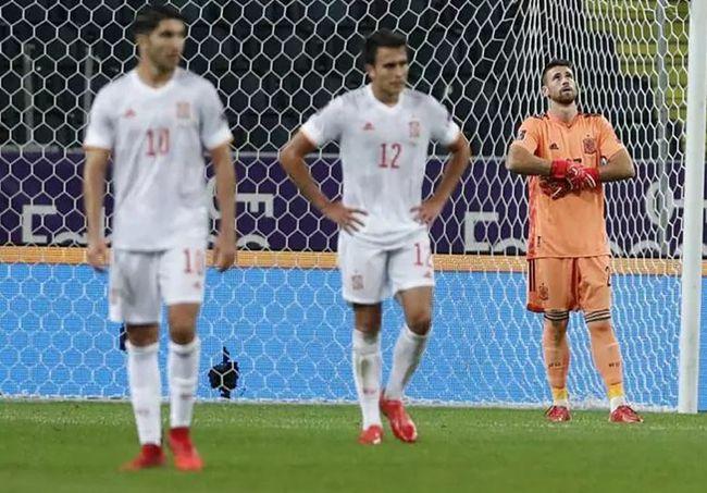 西班牙首次世预赛遭逆转输球!17年来首次连续3场不胜