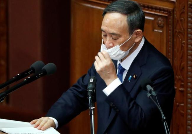 日本首相重申举办奥运会 新冠疫苗估计2月抵日本