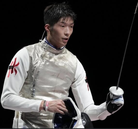 中国香港奥运史第二金男子首金 张家朗历史性突破