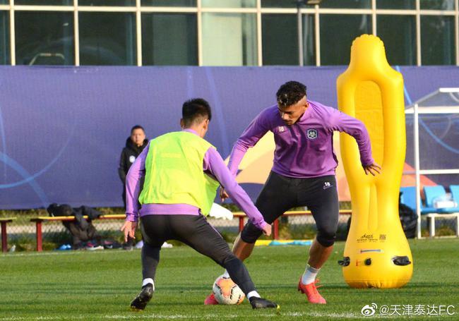 """天津足协用亮剑桥段激励泰达 赛季首胜就在""""德比""""?"""
